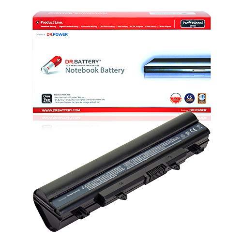 DR. BATTERY Laptop Battery for Acer AL14A32 KT.00603.008 Aspire E5-511 E5-521G E5-531 E5-411 E5-551 E5-551G E5-571 V3-572 TravelMate P246 P256 P276 [11.1V/4400mAh/49Wh]