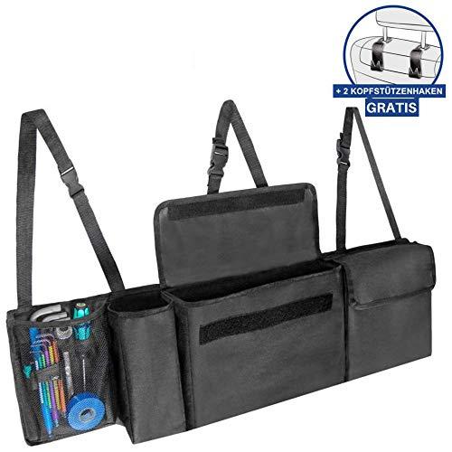 Kofferraumtasche Auto Tasche Zubehörtasche ROT