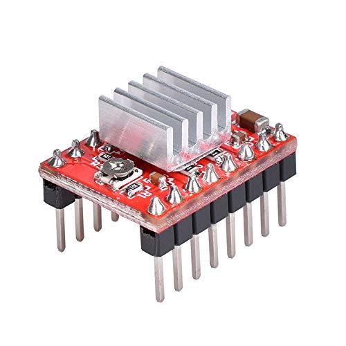 Hihey A4988 DMOS Stepper Motor Driver RepRap komplett 1 Stück A4988 StepStick Stepper Treiber + Kühlkörper für 3D-Drucker RepRap