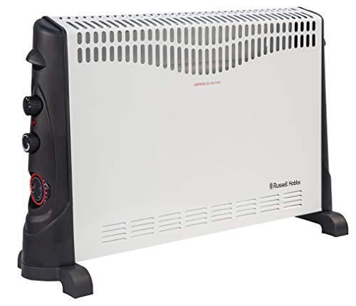 Russell Hobbs RHCVH4002 2KW Convection Heater with Timer, 2000 W, White
