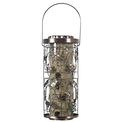 Perky-Pet Copper Meadow Wild Bird Feeder - Large Hanging Bird Feeder for the Garden - Holds 1.8 kg of Bird Seed #570 by Woodstrean Europe Limited
