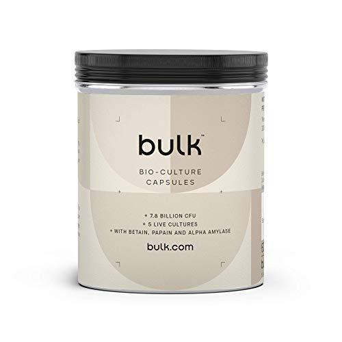 Bulk Complete Bio-Culture, Probiotic Capsules, Pack of 180, Packaging May Vary