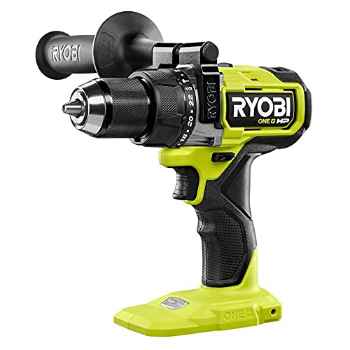 RYOBI ONE+ HP 18V Brushless Cordless 1/2 in. Hammer Drill (Tool Only) PBLHM101B