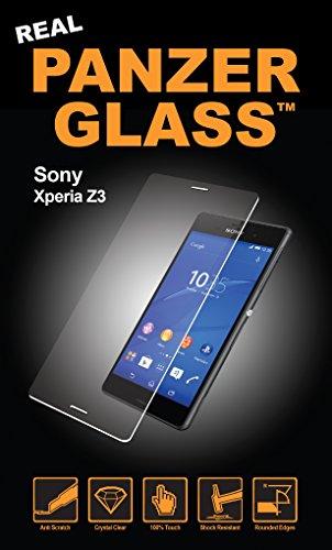 PanzerGlass Bildschirmschutzglas (Anti-Fingerprint); passend für Sony Xperia Z3, Klar