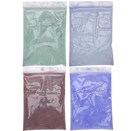 Thermochromes Pulver Gradientenpulver, Hilfsmittel Nageltrockner Pigment Wärmeempfindliches Farbwechselpulver für Seifenkosmetikharz Farbstoff Pigmentfarbstoff Nagel...