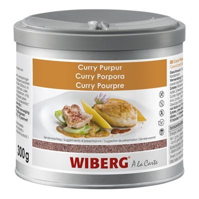 Wiberg Curry Purpur, preparación de extractos de especias, 300 g