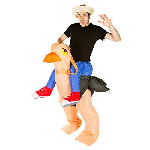 Bodysocks® Costume Gonfiabile da Struzzo per Adulti