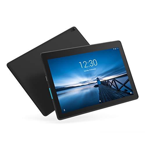 Lenovo Tab E10 Tablet TB-X104F, 1 Zoll HD IPS-Display, Prozessor Qualcomm APQ8009, 2GB RAM, 16GB Speicher, Wi-Fi B/g/N, BT 4.0, Android 8.1, Schwarz