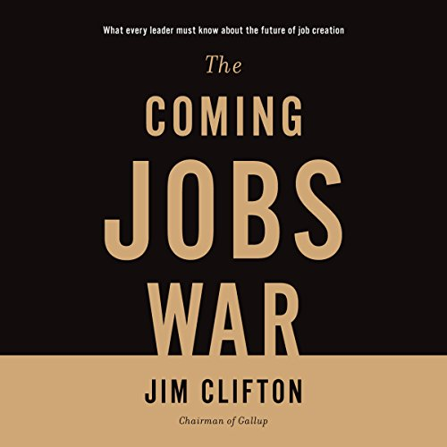 The Coming Jobs War audiobook cover art