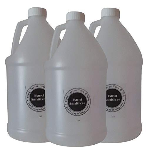 Black Canyon Lemon Chiffon Scented Hand Sanitizer Gel Refill (3 Gallon)