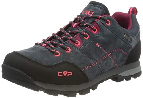 CMP Damen ALCOR Low WMN Trekking Shoes WP Walking Shoe, Antracite, 38 EU