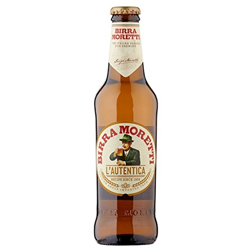 Birra Moretti 330ml (Packung mit 24 x 330 ml)