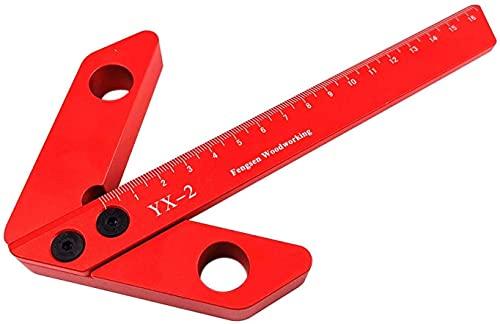 TONG Centro de carpintería Escribe 45 Grados 90 Grados ángulo Recto Scribe Ayudas de carpintería Instrumento (Size : L)