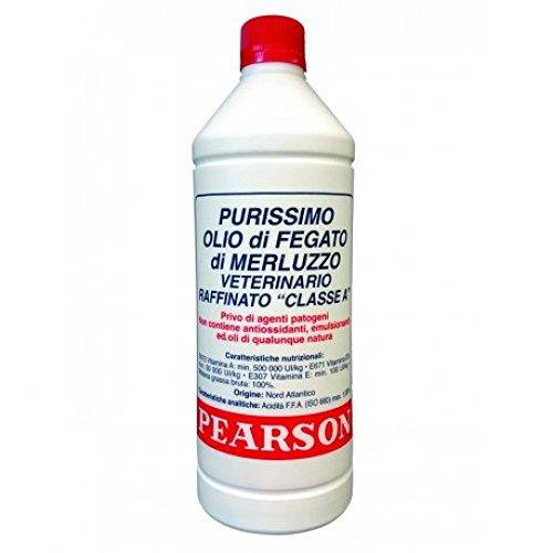 Guglielmo Pearson Olio Fegato di Merluzzo Purissimo Lt 1