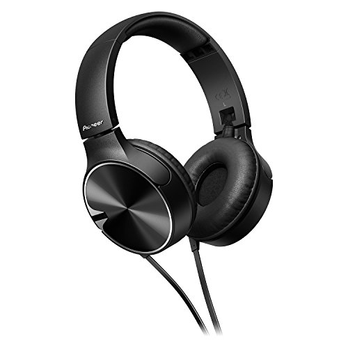 Pioneer SE-MJ722T-K – Auriculares, Color Negro