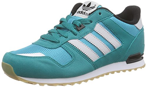 adidas Originals Unisex ZX 700 Low-Top Sneakers Green Size: UK 4.5