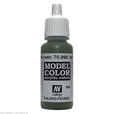 WWG Vallejo Acrylic Paint Model Color Refractive Green 70.890– Wargame Miniature