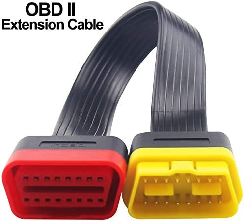 OBD2 Extension Cable Professional Automotive Diagnostic Scan Tool Full 16 Pin Extension Cable product image