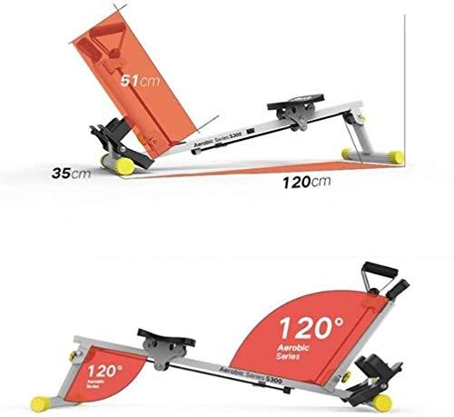 HFJKD Verstelbare banken Sportuitrusting Boot Rally Windweerstand Opvouwbare fitnessapparatuur voor thuis (maat: 120 * 35 * 51cm)