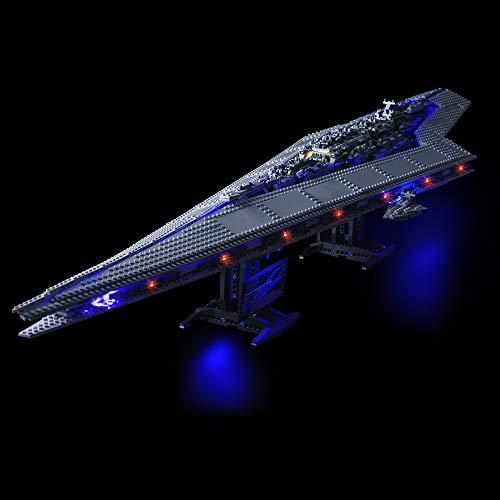Lightailing Licht-Set Für (Star Wars Super Star Zerstörer) Modell - LED Licht-Set Kompatibel Mit Lego 10221(Modell NICHT Enthalten)
