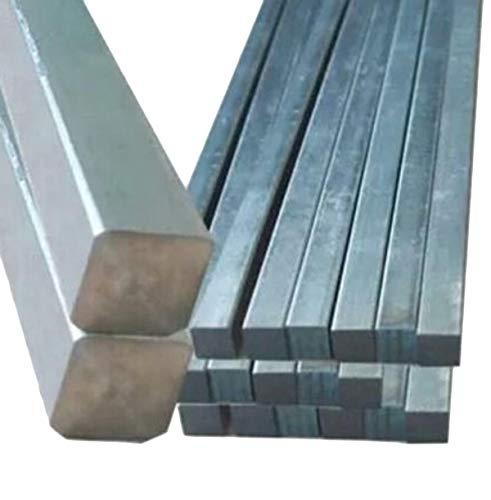 2pcs 6mm x 6mm x 250mm Titanium Ti Grade 2 Gr.2 GR2 Metal Square Rod