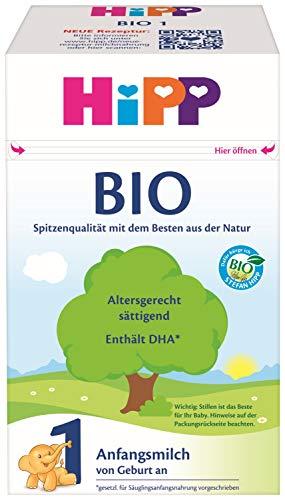 Hipp Bio Milchnahrung 1, 4er Pack (4 x 600 g)