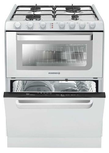 Rosieres TRG 60 RB appareil de cuisine combi - appareils de cuisine combi (Blanc, Electrique, Gaz, A, A, A)