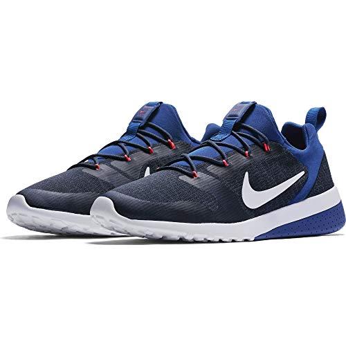 Nike CK Racer, Zapatillas para Hombre, Multicolor (Obsidian/White/Gym Blue/Thunder Blue 001), 39 EU