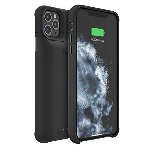 mophie 401004407 Juice Pack Access - Ultra-Slim Wireless Charging Battery Case - Made For Apple iPhone 11 Pro Max - Black