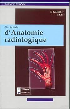 Paperback Atlas de poche d'anatomie radiologique [French] Book