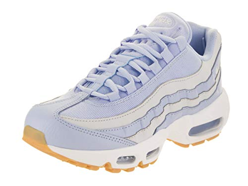 Nike Women's WMNS Air Max 95 Competition Running Shoes, Multicolour (Royal Tint/Pure Platinum/Gum Light Brown 403), 3 UK