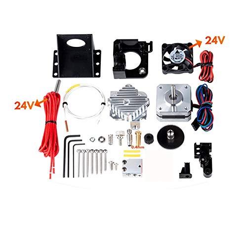 3D Drucker Titan Aero V6 Hotend Extruder Komplettpaket Titan Extruder Komplettpaket Reprap MK8 i3 Kompatibel TEVO ANET 24V