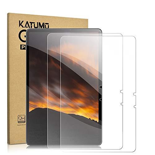 [2 Stück] KATUMO Displayfolie Samsung Galaxy Tab S7 11 Zoll Panzerglas folie für Tablet Samsung Tab S7 2020 Displayschutzfolie 9H Härte Glas für SM-T870/T875