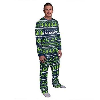 Seattle Seahawks NFL Family Holiday Pajamas - Mens - XXL
