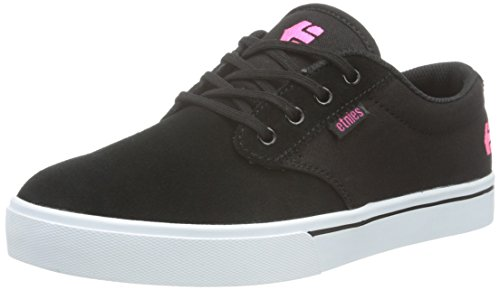 Etnies Damen Jameson 2 W's Skateboardschuhe, Schwarz (Black/White/PINK / 888), 37.5