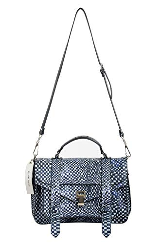Bolsa feminina Proenza Schouler x Harmony Korine PS1 média bolsa de mão bolsa de ombro