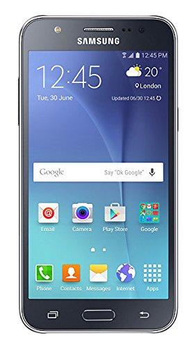 """Téléphone portable - Samsung Galaxy J5 Dual SIM Noir - Smartphone 4G-LTE Dual SIM avec écran tactile Super AMOLED HD 5"""" sous Android 5.1"""