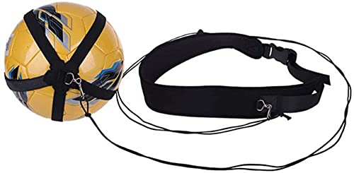 R Entrenador De Patada De Fútbol cinturón De Entrenamiento De Fútbol Ajustable Equipo De Entrenamiento Al Aire Libre para Diferentes Tipos De Bolas