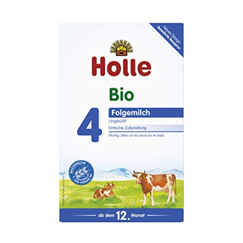 Holle Bio Lait Enfant 4, 1er Pack (1 x 600 g)