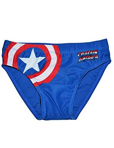 Captain America, Badehose SE1789 Gr. 10 Jahre, blau