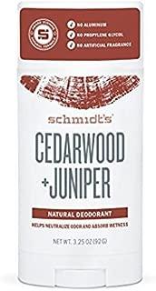Schmidt's Deodorant - Natural Deodorant Cedarwood + Juniper - 2.65 oz. by Schmidt's Deodorant