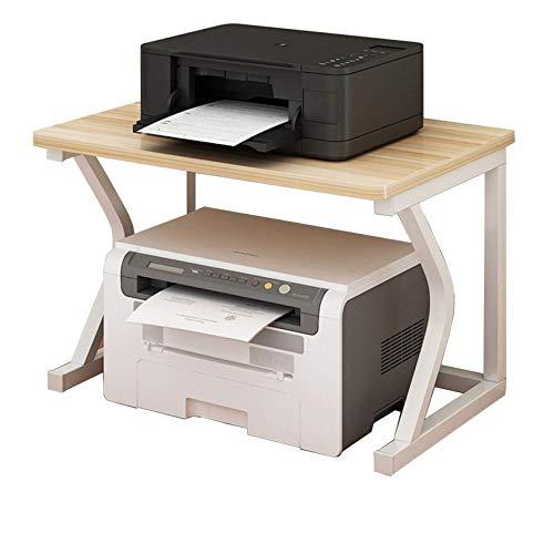 ZHJIUXING SF Soporte para Impresora Estante Multifunción para Oficina, Escritorio, Fax, Estante De Cocina para Organizador De Espacio, Soporte para Impresora De Escritorio
