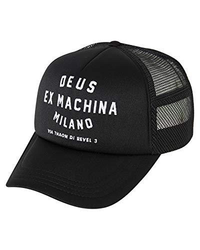 Deus Ex Machina - Milano Address - Gorra - Black