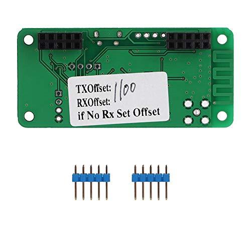 Bewinner Punto de Acceso MMDVM, Soporte de Placa de módulo MMDVM P25 para DMR YSF para Raspberry pi, procesador Arm Incorporado de 32 bits, Potencia de RF de hasta 10 MW, Soporte VHF