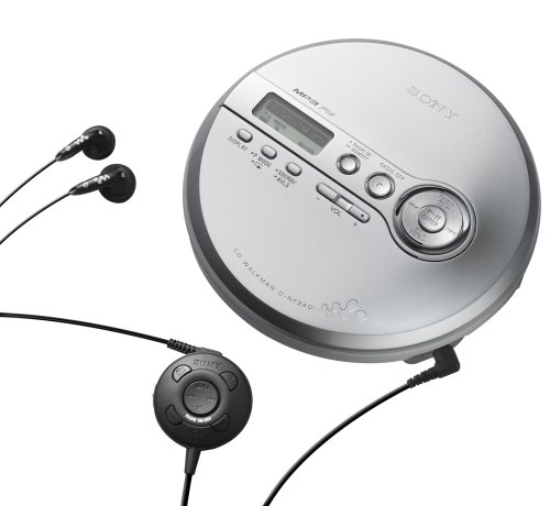 Sony D-NF340 CD Walkman & MP3 Player w/FM Tuner