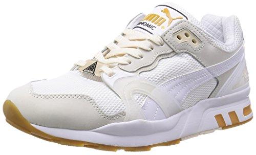 PUMA Trinomic XT 2 White on White Schuhe Herren Sneaker Turnschuhe Weiß 358138 02, Größenauswahl:43
