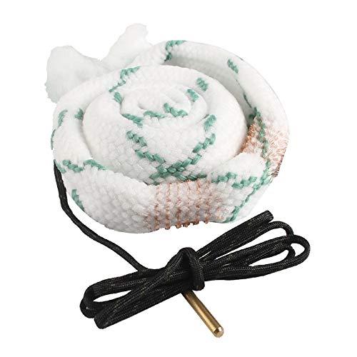 XFC-QIJIE、 洗浄ブラシクリーナーロープ12 GAゲージボアクリーナーライフルピストルガンバレルクリーニングブラシクリーナーロープ狩猟アクセサリー