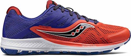 Saucony Men Ride 10 Neutral Running Shoe Running Shoes Orange -...