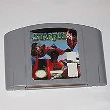 BrotheWiz Nintendo N64 Game Starfox English Language for 64 bit USA Version Video Game Cartridge Console