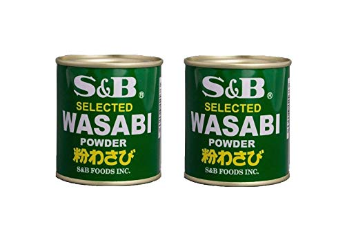 Pamai Pai® Doppelpack: 2 x 30g Wasabi Pulver Wasabipaste Sushi grüner Meerrettich scharf